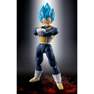 Figurine Dragon Ball Super Broly S.H. Figuarts Super Saiyan God Super Saiyan Vegeta 14cm