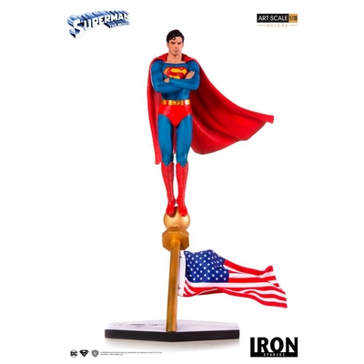 Statuette DC Comics Deluxe Art Scale Superman The Movie 1978 - 35cm