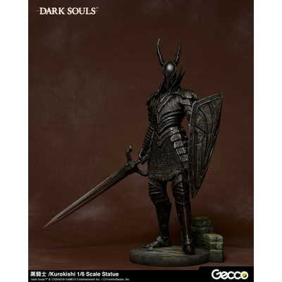 Statuette Dark Souls Kurokishi The Black Knight 41cm