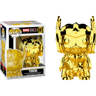 Figurine Marvel Studios 10 Funko POP! Marvel Thor Chrome 9cm