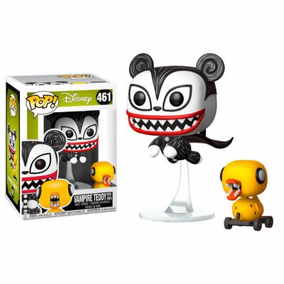 Figurine L´étrange Noël de Mr. Jack Funko POP! Vampire Teddy & Duck 9cm