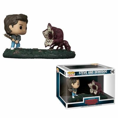 Figurines Stranger Things 2 POP! Movie Moments Bobble Head Steve & Demodog 9cm