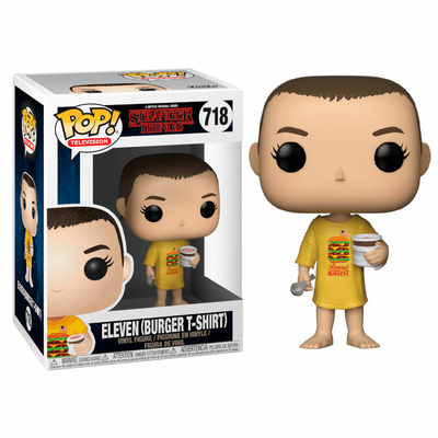 Figurine Stranger Things Funko POP! Eleven in Burger Tee 9cm