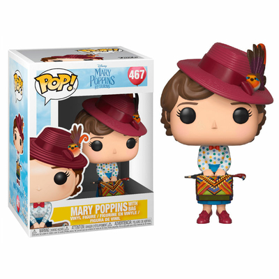 Figurine Mary Poppins 2018 Funko POP! Disney Mary with Bag 9cm