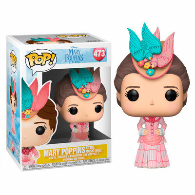 Figurine Mary Poppins 2018 Funko POP! Disney Mary Pink Dress 9cm
