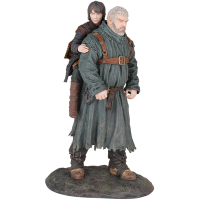 Statuette Game of Thrones Hodor & Bran 23 cm