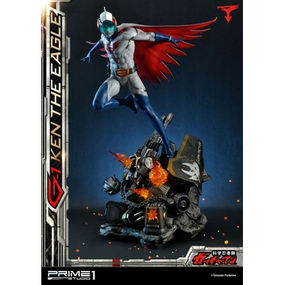 Statue Science Ninja Team Gatchaman G-1 Ken the Eagle 73cm