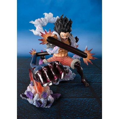 Statuette One Piece Figuarts ZERO Monkey D. Luffy Gear 4 Snakeman King Cobra 16cm