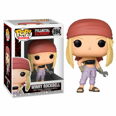 Figurine Fullmetal Alchemist Funko POP! Winry Rockbell 9cm