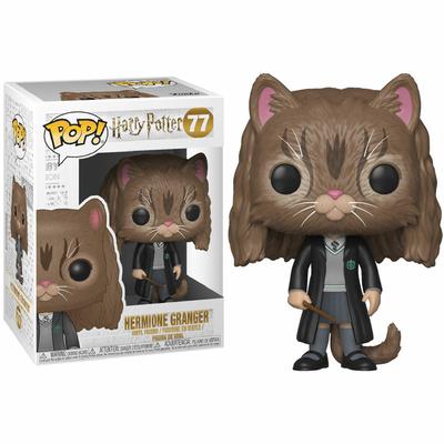 Figurine Harry Potter Funko POP! Hermione as Cat 9cm