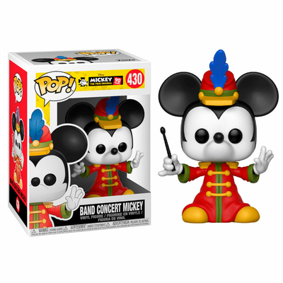 Figurine Mickey Maus 90th Anniversary Funko POP! Disney Band Concert 9cm