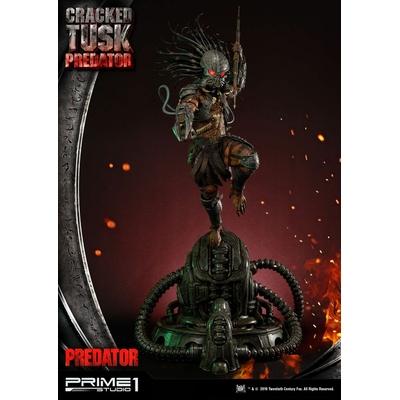 Statue Predator Cracked Tusk Predator 101cm