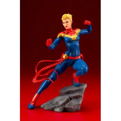 Statuette Marvel Universe Avengers Series ARTFX+ Captain Marvel 17cm