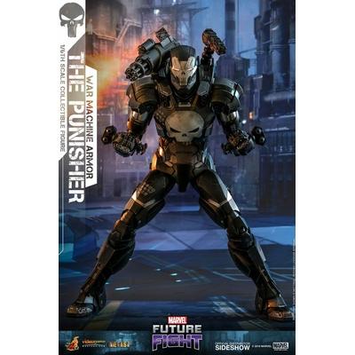 Figurine Marvel Future Fight Video Game Masterpiece The Punisher War Machine Armor 32cm