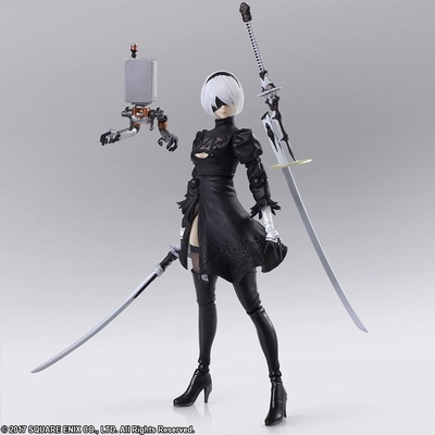 Figurine NieR Automata Bring Arts YoRHa No.2 Type B Version 2.0 - 14cm