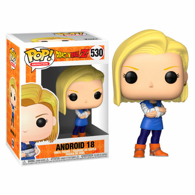 Figurine Dragon Ball Z Funko POP! Android 18 - 9cm