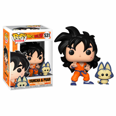 Figurine Dragon Ball Z Funko POP! Yamcha & Puar 9cm