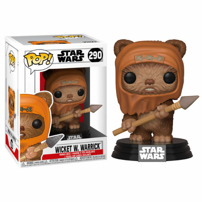 Figurine Star Wars Funko POP! Wicket 9cm