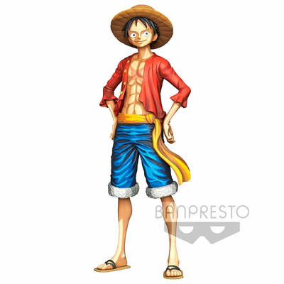 Statuette One Piece Master Star Piece Monkey D. Luffy Manga Dimension 27cm