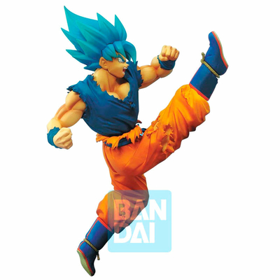 Statuette Dragon Ball Super Z-Battle Super Saiyan God Super Saiyan Son Goku 16cm