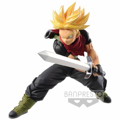 Statuette Super Dragon Ball Heroes Transcendence Art Super Saiyan Trunks Future 14cm