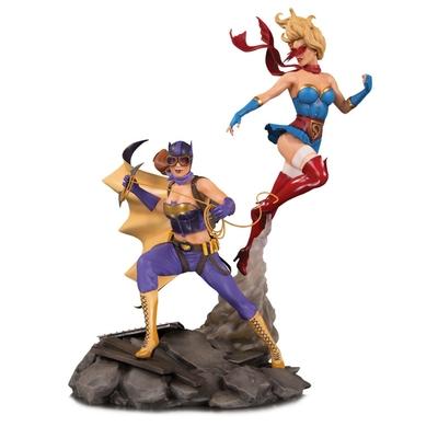 Statuette DC Bombshells Batgirl & Supergirl Celebration 38cm