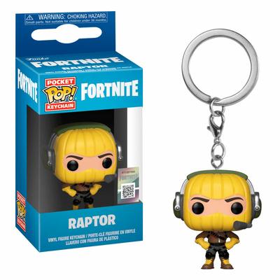 Porte-clés Fortnite Pocket POP! Raptor 4cm