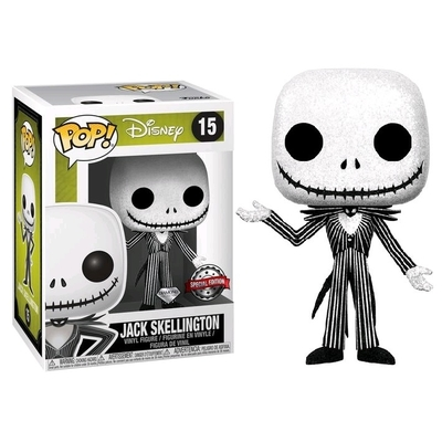 Figurine L´étrange Noël de Mr. Jack Funko POP! Jack Skellington Diamond 9cm