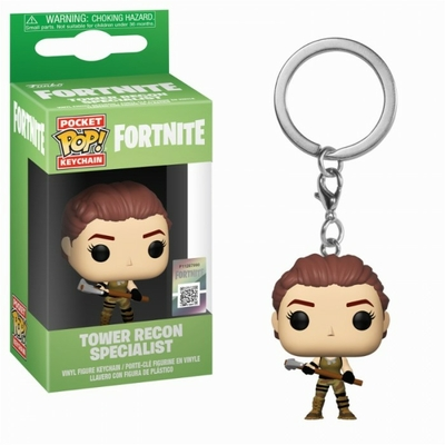 Porte-clés Fortnite Pocket POP! Tower Recon Specialist 4cm
