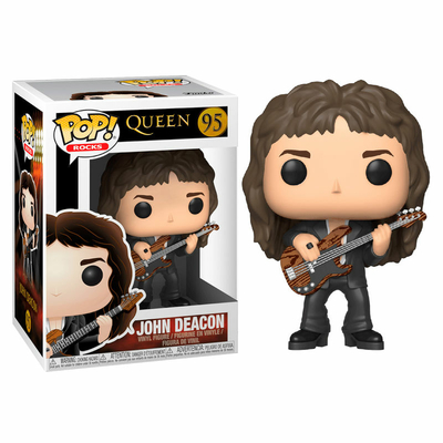 Figurine Queen Funko POP! Rocks John Deacon 9cm