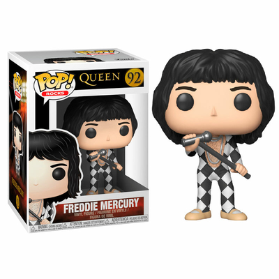 Figurine Queen Funko POP! Rocks Freddy Mercury 9cm