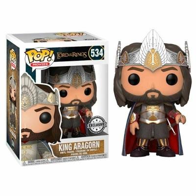 Figurine Le Seigneur des Anneaux Funko POP! King Aragorn 9cm