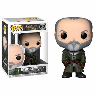 Figurine Game of Thrones Funko POP! Davos Seaworth 9cm