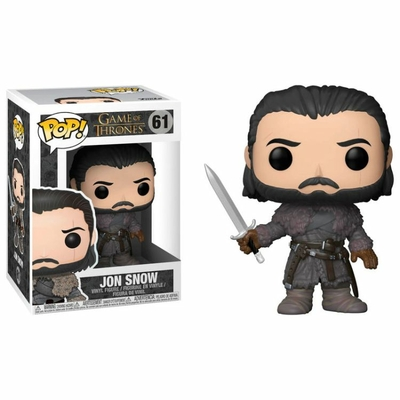 Figurine Game of Thrones Funko POP! Jon Snow Beyond the Wall 9cm