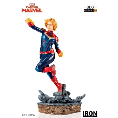 Statuette Marvel Comics BDS Art Scale Captain Marvel 20cm