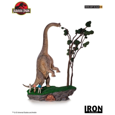 Statuette Jurassic Park Demi Art Scale Welcome to Jurassic Park 80cm