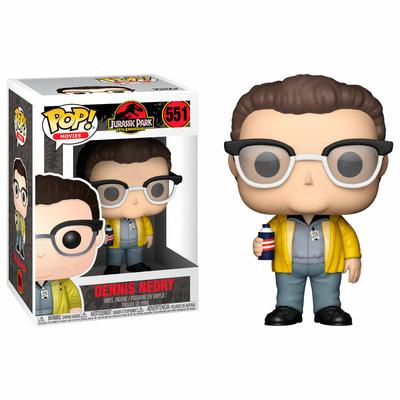 Figurine Jurassic Park Funko POP! Dennis Nedry 9cm