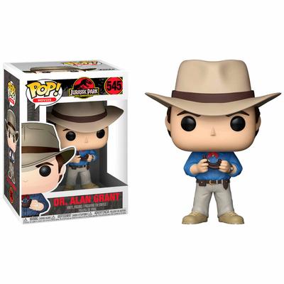 Figurine Jurassic Park Funko POP! Dr. Alan Grant 9cm