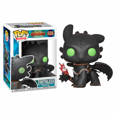 Figurine How to Train your Dragon 3 Funko POP! Toothless 9cm