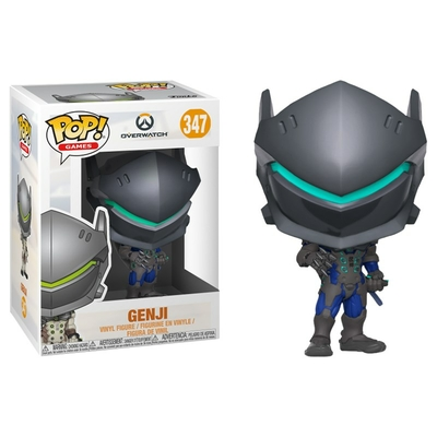 Figurine Overwatch Funko POP! Genji Carbon Fiber Exclu