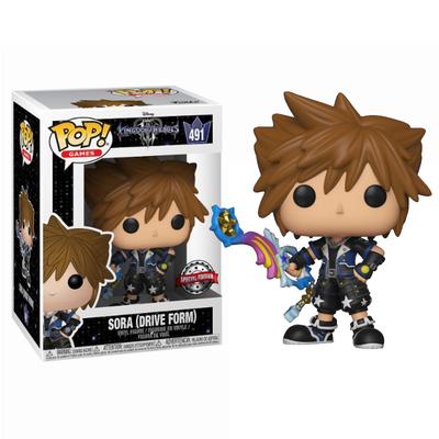 Figurine Kingdom Hearts 3 Funko POP! Disney Sora Drive Form Exclu