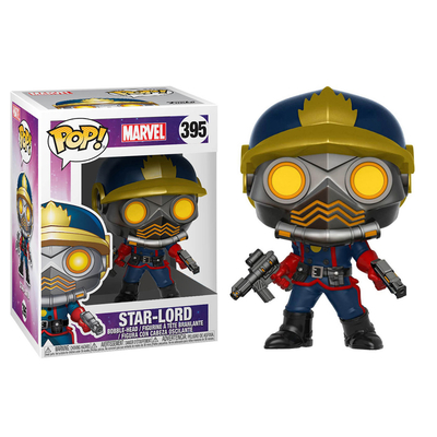 Figurine Les Gardiens de la Galaxie Funko POP! Star Lord Comics Version Exclu
