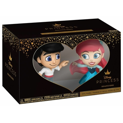 Pack Disney Princess Mystery Mini Funko Eric & Ariel 6cm