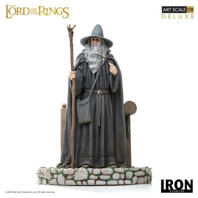 Statuette Le Seigneur des Anneaux Deluxe Art Scale Gandalf 23cm