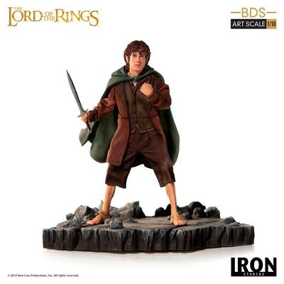 Statuette Le Seigneur des Anneaux BDS Art Scale Frodo 14cm