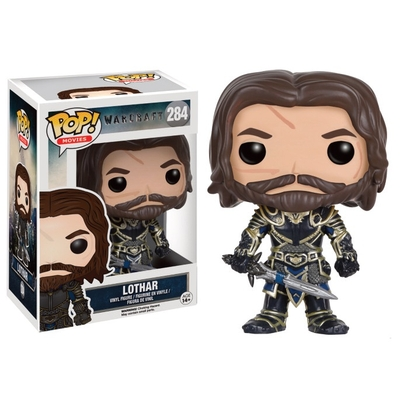 Figurine World of Warcraft Funko POP! Lothar 9cm