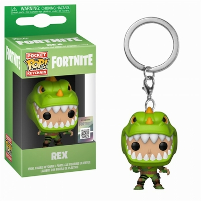 Porte-clés Fortnite Pocket POP! Rex 4cm