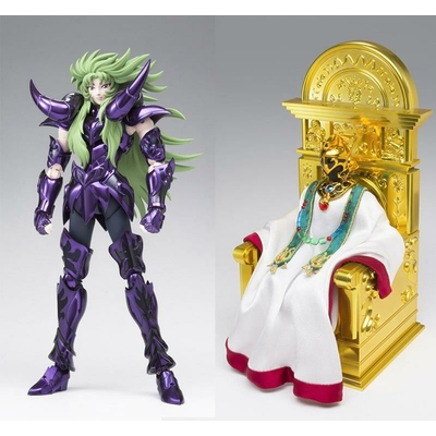 Set Saint Seiya Myth Cloth EX Aries Shion Surplice et Grand Pope
