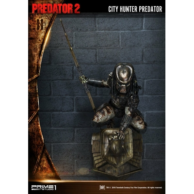 Plaque murale 3D Predator 2 City Hunter Predator 79cm
