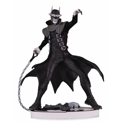 Statuette Batman Black & White The Batman Who Laughs 2nd Edition 19cm